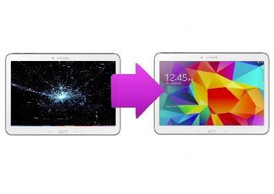 Changement LCD + Tactile tactile Galaxy Tab S 10,1 (T800)